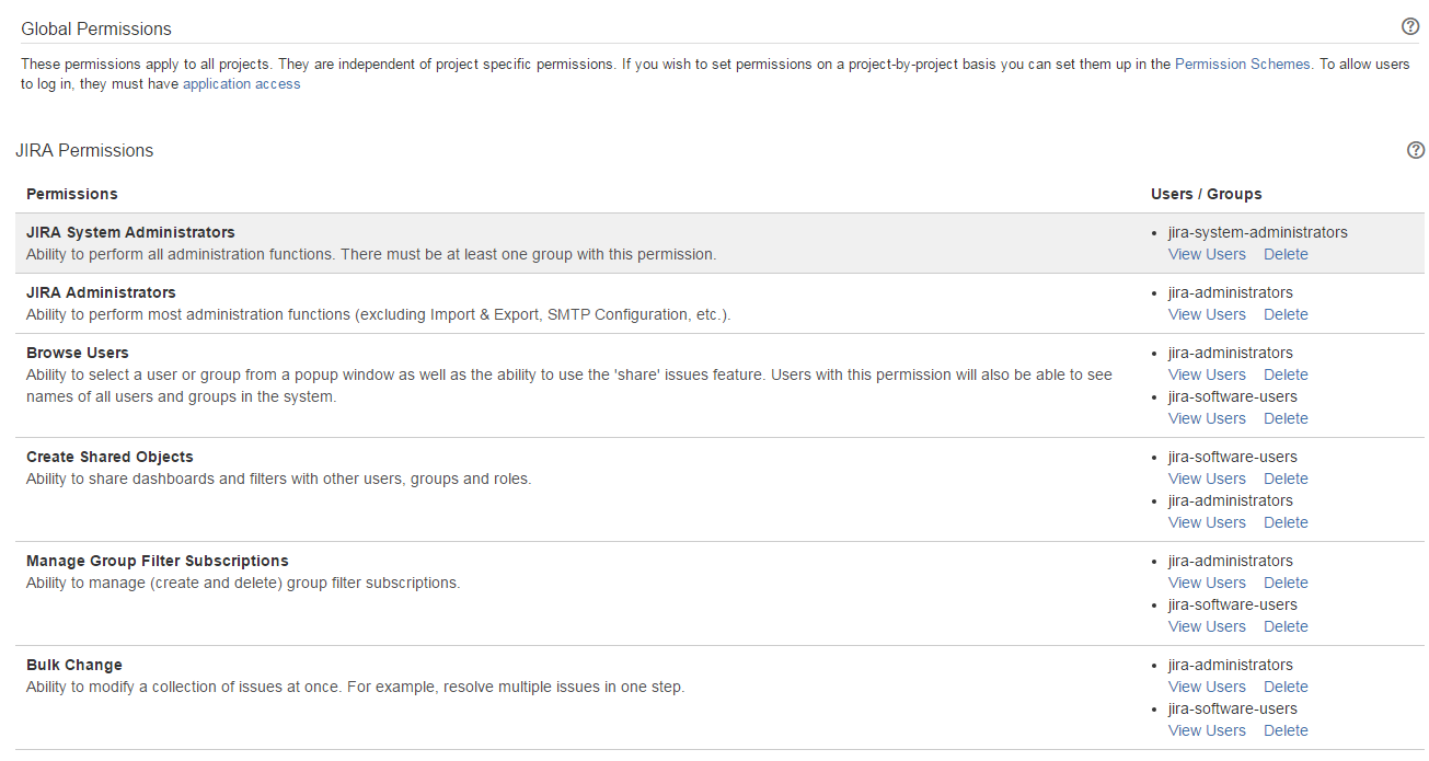 jira assign permissions to group